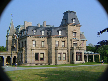 Facade of Chateau-sur- mer