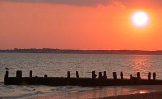 Sunset at North Truro Beach